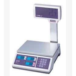 Торговые весы CAS ER-JR-CBU со стойкой