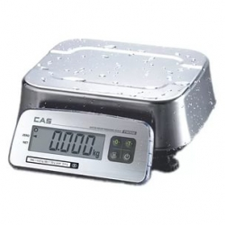 Весы пылеводозащищенные CAS FW-500C НПВ=6,15,30кг, IP69, ЖК дисплей