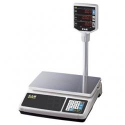 Торговые весы CAS PR-P со стойкой
